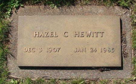 HEWITT, HAZEL C - Marion County, Oregon | HAZEL C HEWITT - Oregon Gravestone Photos