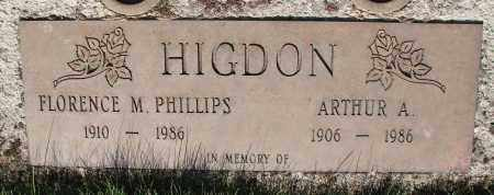 PHILLIPS, FLORENCE M - Marion County, Oregon   FLORENCE M PHILLIPS - Oregon Gravestone Photos