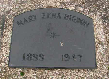 AGER HIGDON, MARY ZENA - Marion County, Oregon | MARY ZENA AGER HIGDON - Oregon Gravestone Photos
