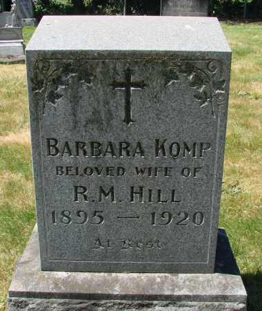 HILL, BARBARA - Marion County, Oregon | BARBARA HILL - Oregon Gravestone Photos