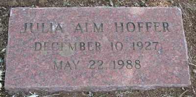 HOFFER, JULIA ANN - Marion County, Oregon | JULIA ANN HOFFER - Oregon Gravestone Photos