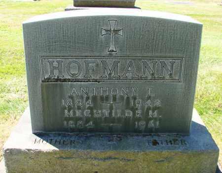 HOFMANN, ANTHONY T - Marion County, Oregon | ANTHONY T HOFMANN - Oregon Gravestone Photos