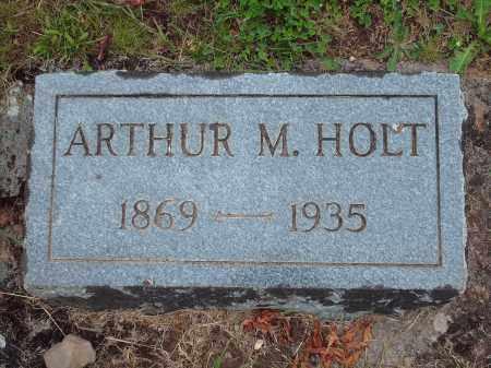 HOLT, ARTHUR M. - Marion County, Oregon | ARTHUR M. HOLT - Oregon Gravestone Photos