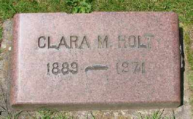 HOLT, CLARA M - Marion County, Oregon | CLARA M HOLT - Oregon Gravestone Photos