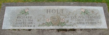 HOLT, EVELYN FRANCES - Marion County, Oregon | EVELYN FRANCES HOLT - Oregon Gravestone Photos