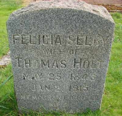 HOLT, FELICIA - Marion County, Oregon | FELICIA HOLT - Oregon Gravestone Photos