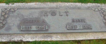HOLT, JOSEPH ALBERT - Marion County, Oregon | JOSEPH ALBERT HOLT - Oregon Gravestone Photos