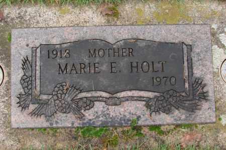 HOLT, MARIE E - Marion County, Oregon | MARIE E HOLT - Oregon Gravestone Photos