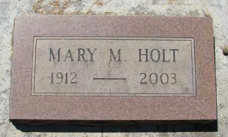 HOLT, MARY M - Marion County, Oregon | MARY M HOLT - Oregon Gravestone Photos