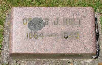 HOLT, OSCAR J - Marion County, Oregon   OSCAR J HOLT - Oregon Gravestone Photos