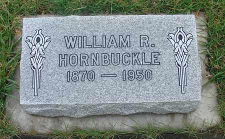 HORNBUCKLE, WILLIAM RICHARD - Marion County, Oregon | WILLIAM RICHARD HORNBUCKLE - Oregon Gravestone Photos
