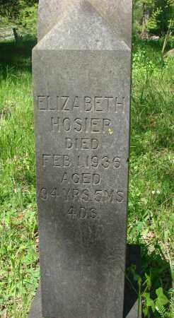 HOSIER, ELIZABETH A - Marion County, Oregon   ELIZABETH A HOSIER - Oregon Gravestone Photos