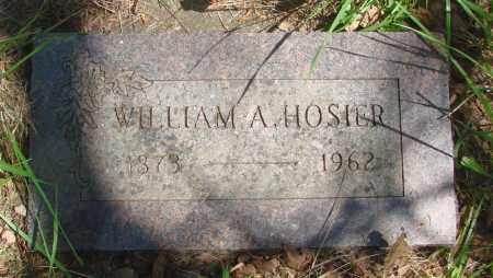 HOSIER, WILLIAM ALBERT - Marion County, Oregon | WILLIAM ALBERT HOSIER - Oregon Gravestone Photos