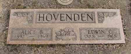 HOVENDEN, ALICE B - Marion County, Oregon | ALICE B HOVENDEN - Oregon Gravestone Photos