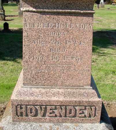 HOVENDEN, ALFRED - Marion County, Oregon | ALFRED HOVENDEN - Oregon Gravestone Photos