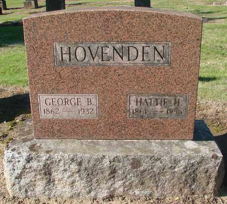 HOVENDEN, GEORGE B - Marion County, Oregon | GEORGE B HOVENDEN - Oregon Gravestone Photos