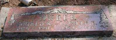 HUBER, DONALD RYLE - Marion County, Oregon | DONALD RYLE HUBER - Oregon Gravestone Photos