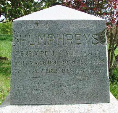 WILSON HUMPHREYS, PENELOPE JANE - Marion County, Oregon   PENELOPE JANE WILSON HUMPHREYS - Oregon Gravestone Photos