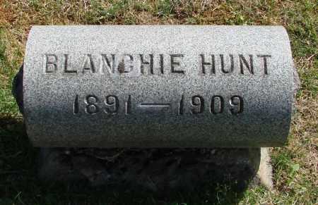 HUNT, BLANCHIE - Marion County, Oregon | BLANCHIE HUNT - Oregon Gravestone Photos