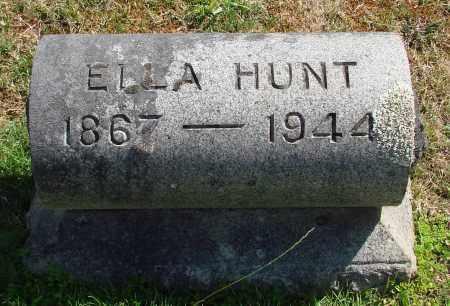 HUNT, ELLA JULIA - Marion County, Oregon | ELLA JULIA HUNT - Oregon Gravestone Photos
