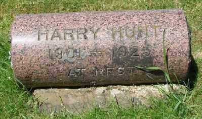 HUNT, HARRY - Marion County, Oregon | HARRY HUNT - Oregon Gravestone Photos