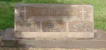HUNT, LOWELL J - Marion County, Oregon | LOWELL J HUNT - Oregon Gravestone Photos