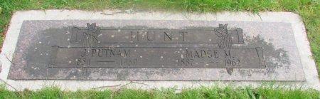 HUNT, JAMES PUTNAM - Marion County, Oregon | JAMES PUTNAM HUNT - Oregon Gravestone Photos