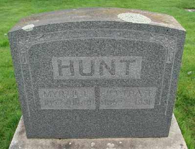 HUNT, JEPTRA T - Marion County, Oregon   JEPTRA T HUNT - Oregon Gravestone Photos