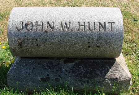 HUNT, JOHN WILLIAM - Marion County, Oregon | JOHN WILLIAM HUNT - Oregon Gravestone Photos