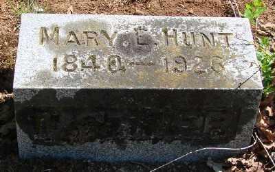 HUNT, MARY E - Marion County, Oregon | MARY E HUNT - Oregon Gravestone Photos