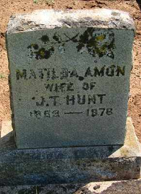 HUNT, MATILDA - Marion County, Oregon | MATILDA HUNT - Oregon Gravestone Photos
