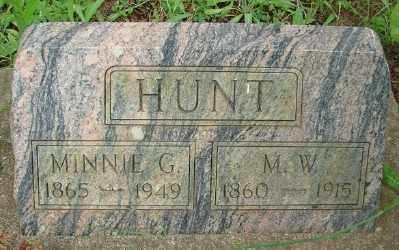 HUNT, MINNIE GERTRUDE - Marion County, Oregon | MINNIE GERTRUDE HUNT - Oregon Gravestone Photos