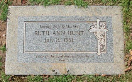 HUNT, RUTH ANN - Marion County, Oregon | RUTH ANN HUNT - Oregon Gravestone Photos