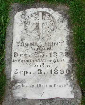 HUNT, THOMAS - Marion County, Oregon | THOMAS HUNT - Oregon Gravestone Photos