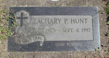 HUNT, ZACHARY P - Marion County, Oregon   ZACHARY P HUNT - Oregon Gravestone Photos