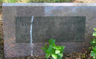 HUNTER, BYRON - Marion County, Oregon | BYRON HUNTER - Oregon Gravestone Photos