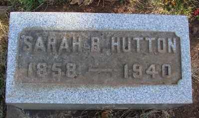 BARKER HUTTON, SARAH ELIZABETH - Marion County, Oregon | SARAH ELIZABETH BARKER HUTTON - Oregon Gravestone Photos