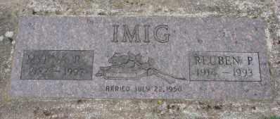 STOVER IMIG, MYRNA R - Marion County, Oregon | MYRNA R STOVER IMIG - Oregon Gravestone Photos