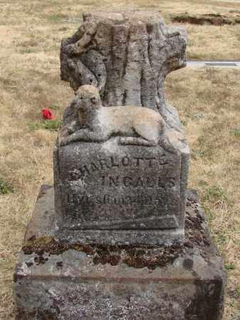 INGALLS, CHARLOTTE - Marion County, Oregon | CHARLOTTE INGALLS - Oregon Gravestone Photos