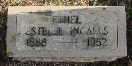 INGALLS, ETHEL ESTELLE - Marion County, Oregon | ETHEL ESTELLE INGALLS - Oregon Gravestone Photos