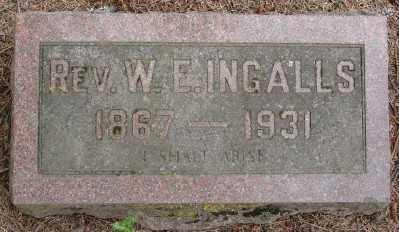 INGALLS, W EDWIN - Marion County, Oregon | W EDWIN INGALLS - Oregon Gravestone Photos