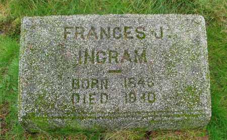 HALL, FRANCES J - Marion County, Oregon | FRANCES J HALL - Oregon Gravestone Photos