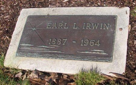 IRWIN, EARL L - Marion County, Oregon | EARL L IRWIN - Oregon Gravestone Photos