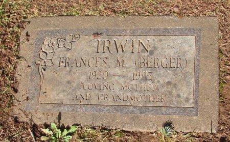 IRWIN, FRANCES M - Marion County, Oregon | FRANCES M IRWIN - Oregon Gravestone Photos