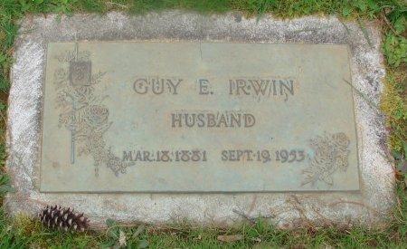 IRWIN, GUY E - Marion County, Oregon   GUY E IRWIN - Oregon Gravestone Photos