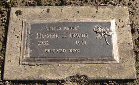 IRWIN, HOMER J - Marion County, Oregon | HOMER J IRWIN - Oregon Gravestone Photos