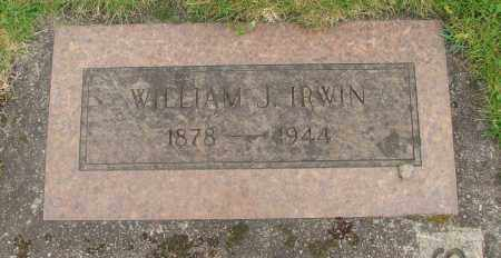 IRWIN, WILLIAM J - Marion County, Oregon | WILLIAM J IRWIN - Oregon Gravestone Photos