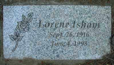 ISHAM, LORENE - Marion County, Oregon | LORENE ISHAM - Oregon Gravestone Photos