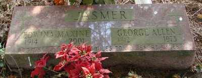 JASMER, GEORGE ALLEN - Marion County, Oregon | GEORGE ALLEN JASMER - Oregon Gravestone Photos