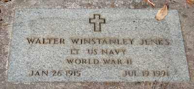 JENKS (WWII), WALTER WINSTANLEY - Marion County, Oregon | WALTER WINSTANLEY JENKS (WWII) - Oregon Gravestone Photos